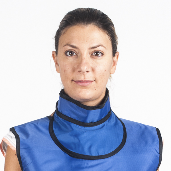 Lead Thyroid Collars 2 Cablas