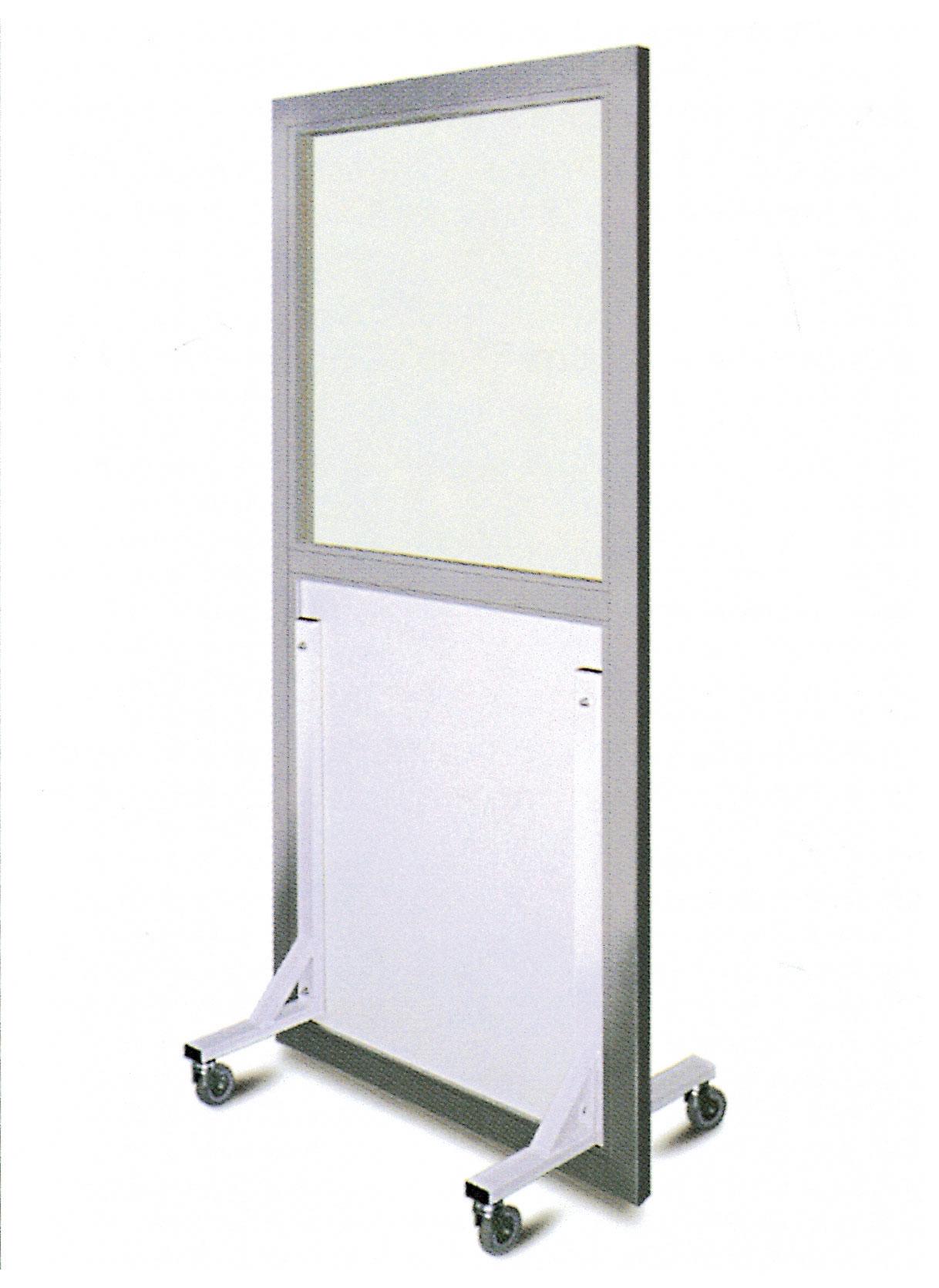 Mobile shield with lead glass CABLAS