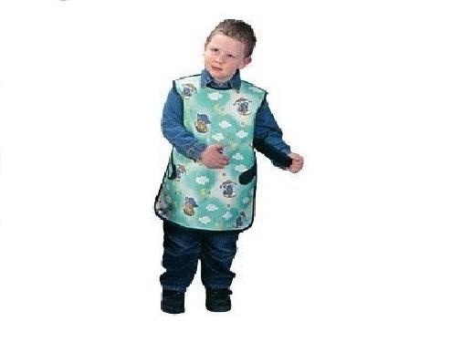 Grembiuli con protezione scapolare per bambini cablas for Protezione stufa per bambini