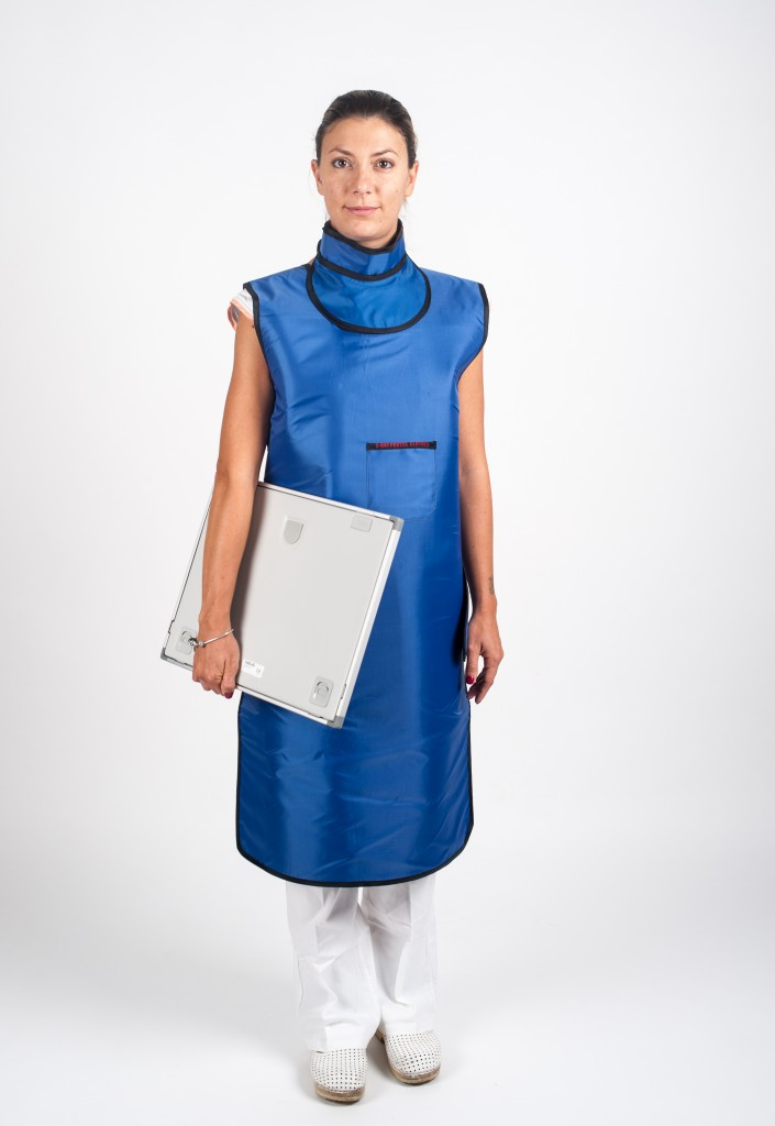 Lead Apron With Scapular Protection Cablas Xray Protection