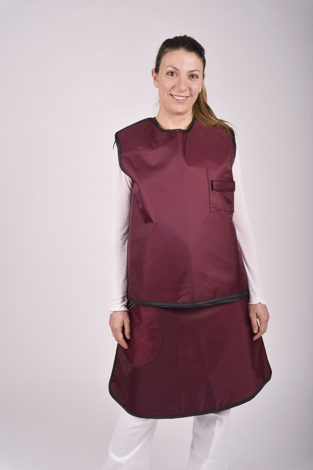Lead Skirt and Vest - Cablas