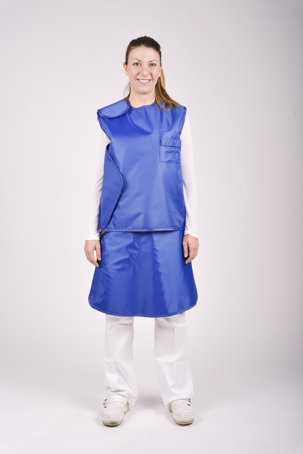 Lead Skirt and Vest Long Procedures whole - Cablas