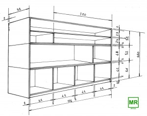 Armadi-Amagnetici-Non-magnetic Cabinets 3 sections Cablas-Xray-Protection