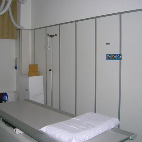 ... Reparto Radiologia Ospedale di Giussano  CABLAS - Schermature Antix